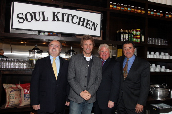 "Bon Jovi Opens New Restaurant ""JBJ Soul Kitchen"" In New Jersey"
