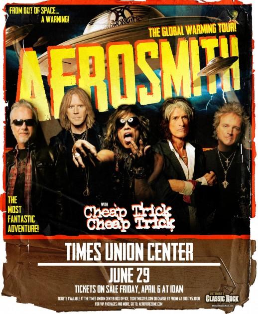 Aerosmith Albany