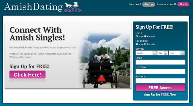 Online amish dating site