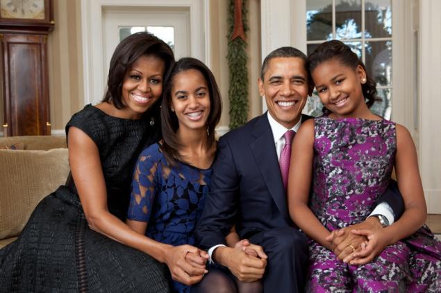 obama family photo