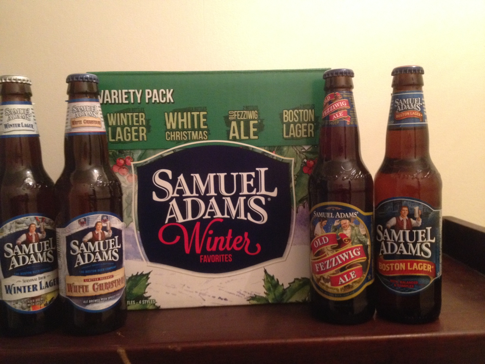 samuel adams winter favorites variety pack is here - White Christmas Sam Adams